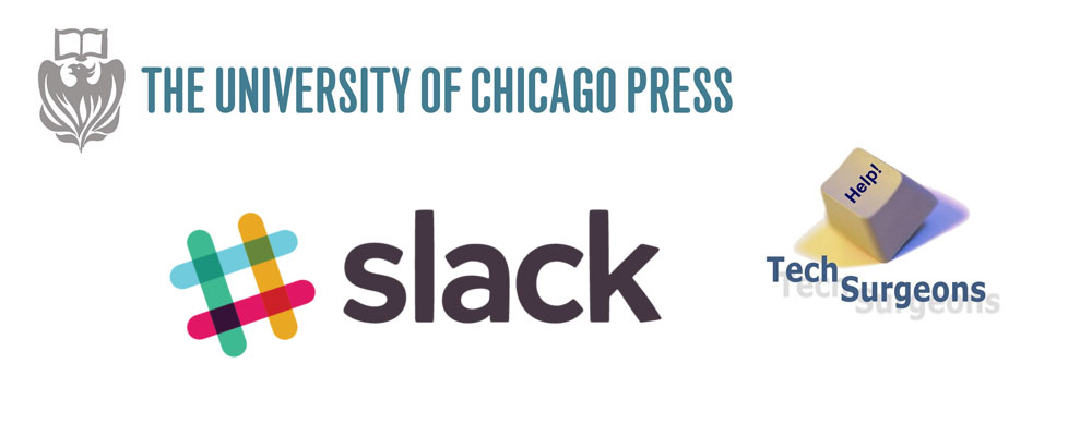 AIPP Partners with The University of Chicago Press, Slack, and Tech Surgeons
